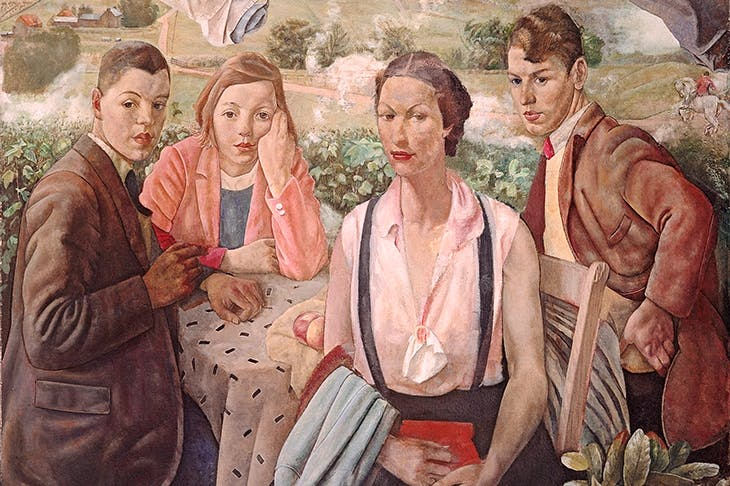 'A Portrait Group' by James Cowie [National Galleries of Scotland/Bridgeman Images]