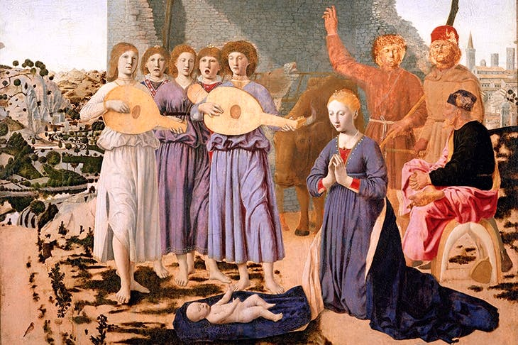 'The Nativity', 1470–75, by Piero della Francesca
