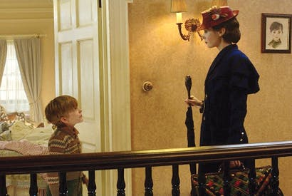 Practically perfect in every way: Joel Dawson and Emily Blunt in Mary Poppins Returns