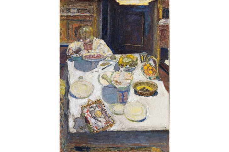 Immaterial world: 'The Table', 1925, by Pierre Bonnard