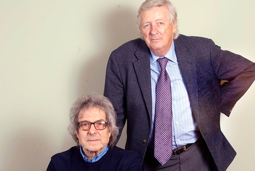 Writers of some of the best-loved programmes in British television history: Ian La Frenais and Dick Clement