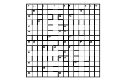 of the same kind crossword