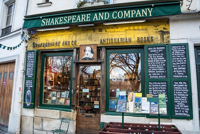 A cure for homesickness: Shakespeare & Co