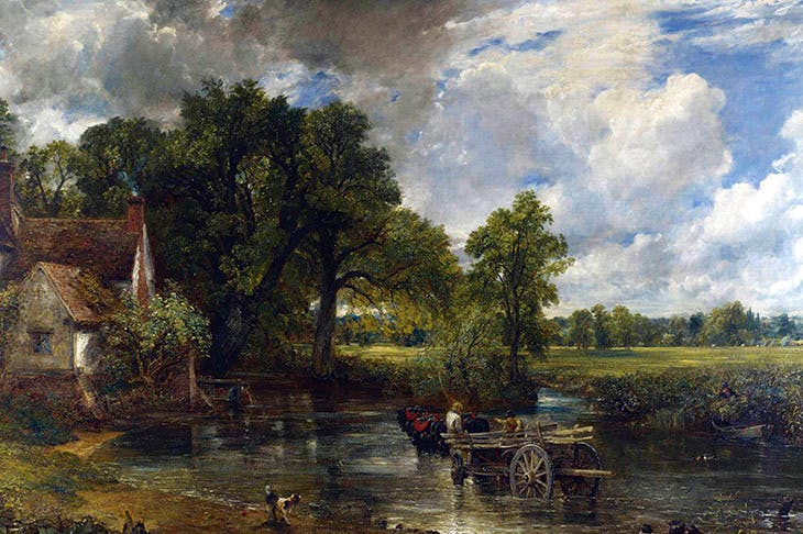 Constable's 'The Hay Wain' (1821)