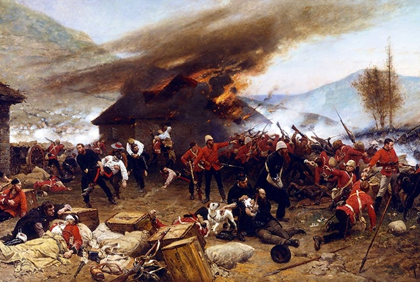 Rorke's Drift: a desperate brawl at a mission station up there with the great battle honours of the British army