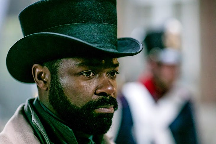 David Oyelowo as Javert in Andrew Davies's Les Misérables. Photo: BBC / Lookout Point / Laurence Cendrowicz
