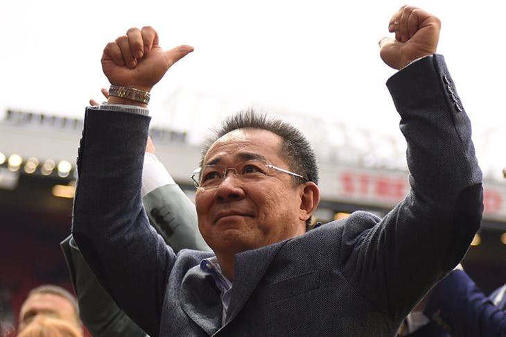 It's all about the owners. The unwavering belief in Leicester City of the late, much loved Vichai Srivaddhanaprabha contributed hugely to its Premier League triumph in the 2015–2016 season