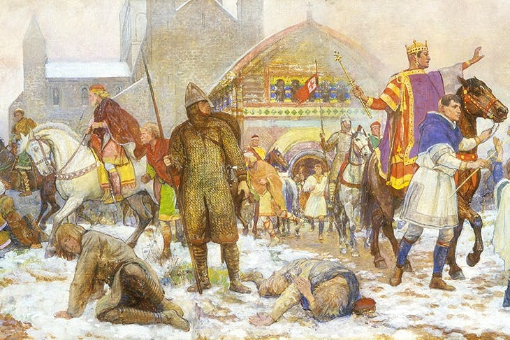 When William I's bloody conquest came to an end, it was his coronation in London, on Christmas Day 1066, that sealed it