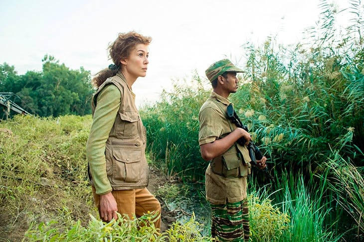 Mesmerising: Rosamund Pike as Marie Colvin in A Private War