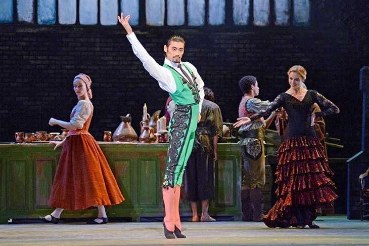 Forget the Don – come for the Mataphwoar Ryoichi Hirano: Royal Ballet's Don Quixote reviewed
