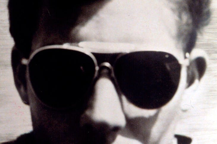 The inventor of gonzo journalism: Hunter S. Thompson, in his heyday in the 1960s