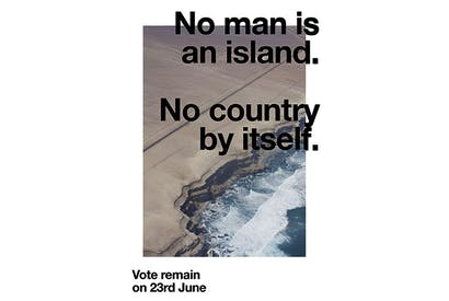 Art or propaganda? Wolfgang Tillmans' pro-EU poster for the 2016 referendum
