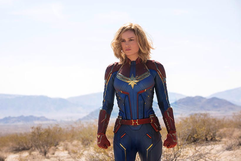 1b23456934f1c3 More than able to carry a film of this type: Brie Larson as Captain Marvel