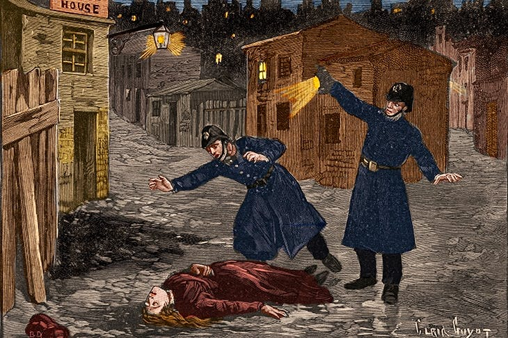 A fallen woman in a vicious world: Jack the Ripper's last victim, depicted in Le Petit Parisien