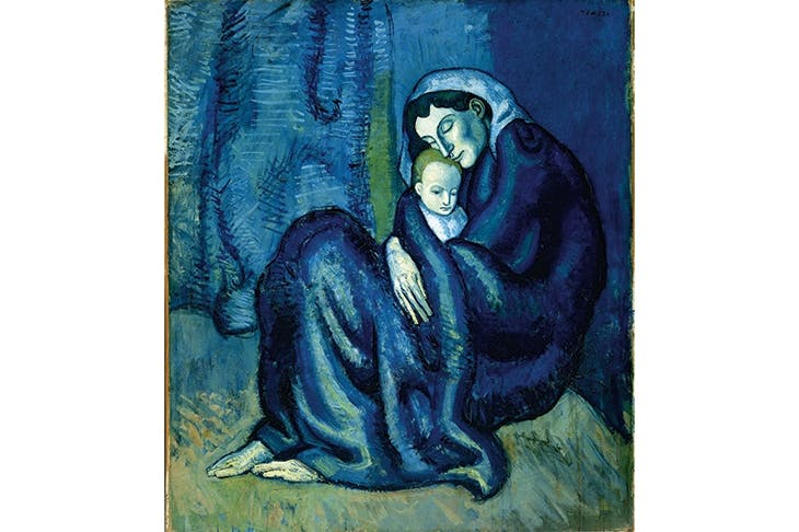 'Mother and Child', c.1901, Pablo Picasso