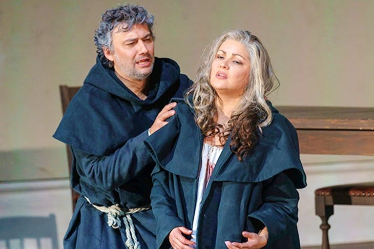 Jonas Kaufmann and Anna Netrebko in Royal Opera's La forza del destino. Photo: Bill Cooper