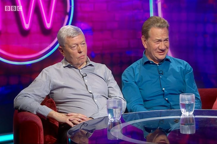 Alan Johnson and Michael Portillo on This Week
