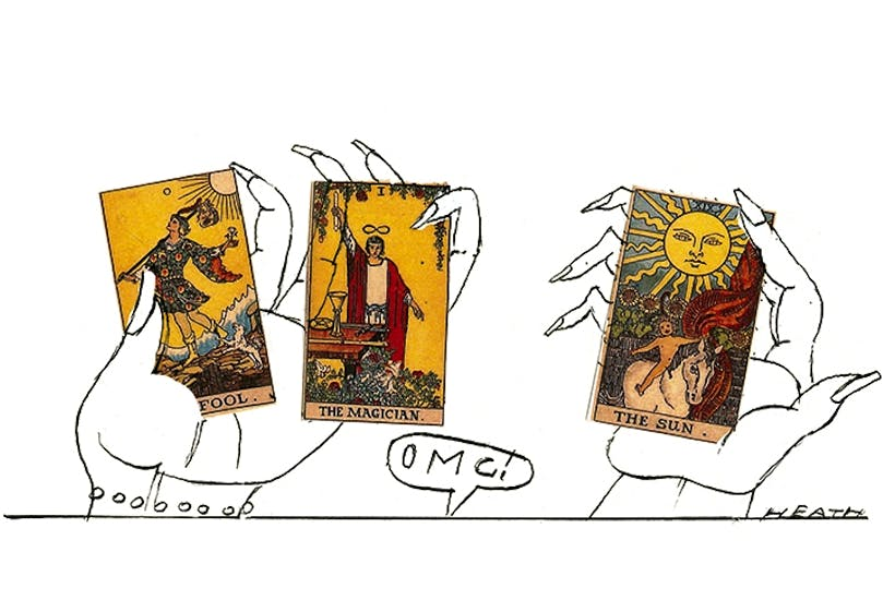 Who could have predicted tarot cards would be back in vogue