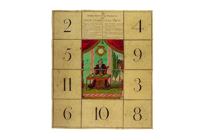 'The New and Fashionable Game of the Jew', 1807
