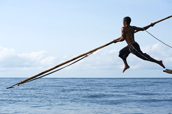 A remote island tribe in Indonesia makes whaling seem positively noble