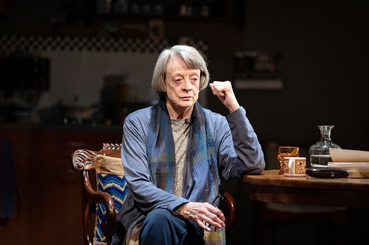 Maggie Smith is miraculous as the ageing Nazi, Brunhilde Pomsel. Image: © Helen Maybanks