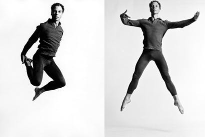 Dancer, choreographer, iconoclast: Merce Cunningham in 1962