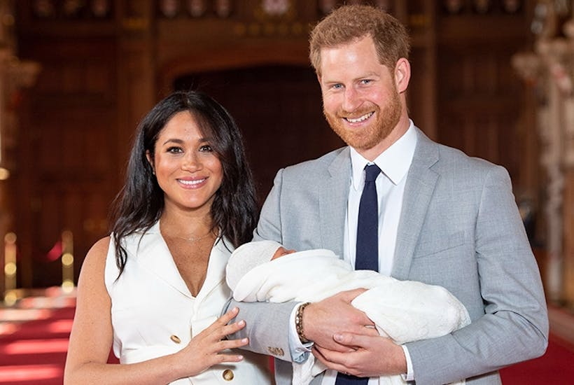 How long before Baby Sussex slips down the line of succession?
