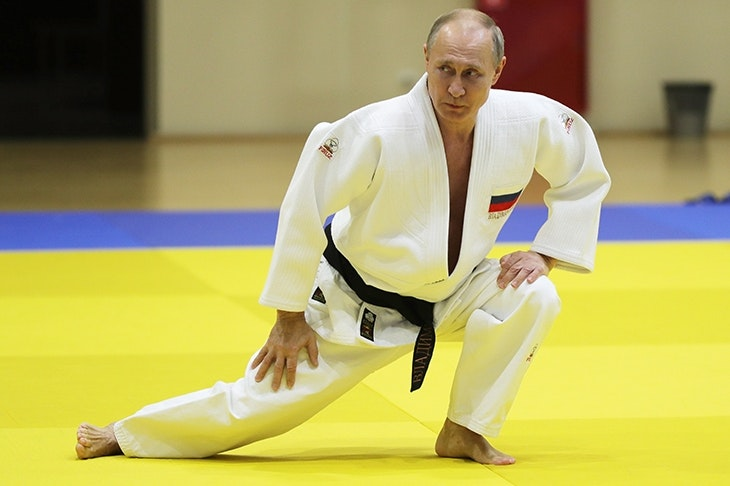 spectator.co.uk - Alan Judd - It's judo, not chess, that's Putin's game