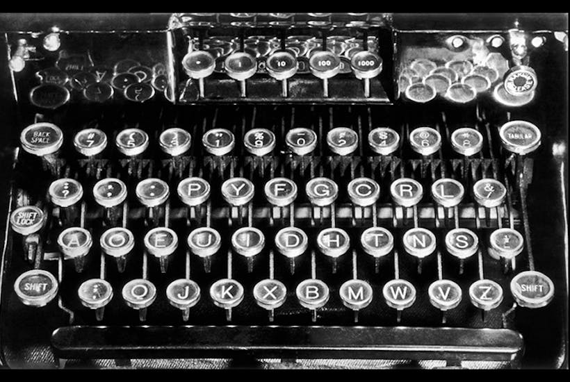 Why do we still use the Qwerty keyboard layout and not Dvorak?   The Spectator