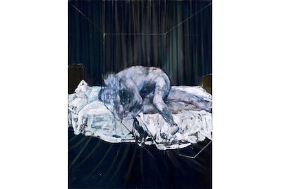 Dark masterpiece: 'Two Figures', 1953, by Francis Bacon