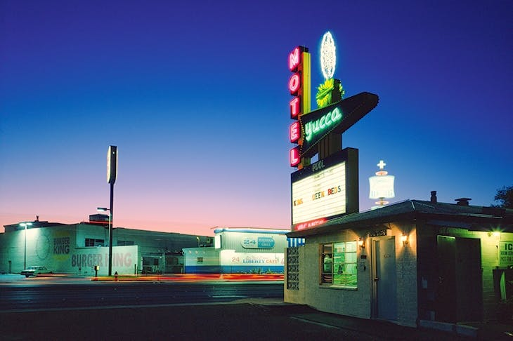 'The Yucca Motel', 1995, by Fred Sigman