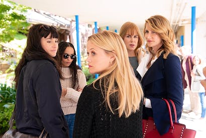 The photogenic womenfolk of Otter Bay: Reese Witherspoon, Nicole Kidman and Laura Dern in Big Little Lies