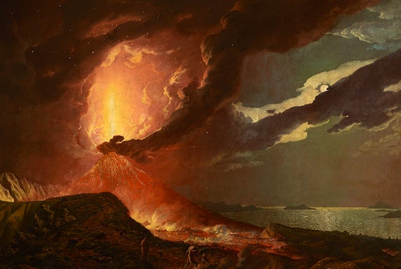 Why has British art had such a fascination with fire? | The Spectator