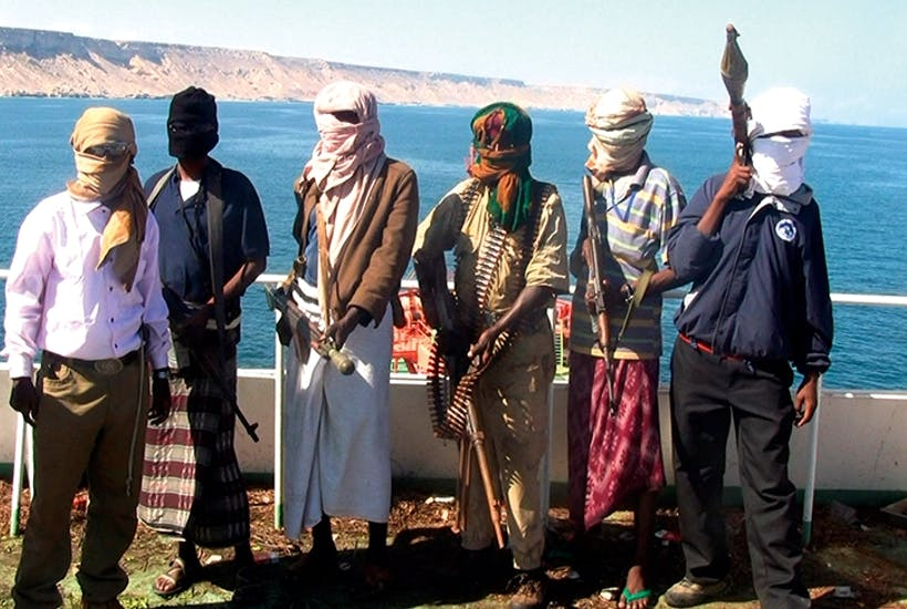 Somali pirates, photographed in 2012