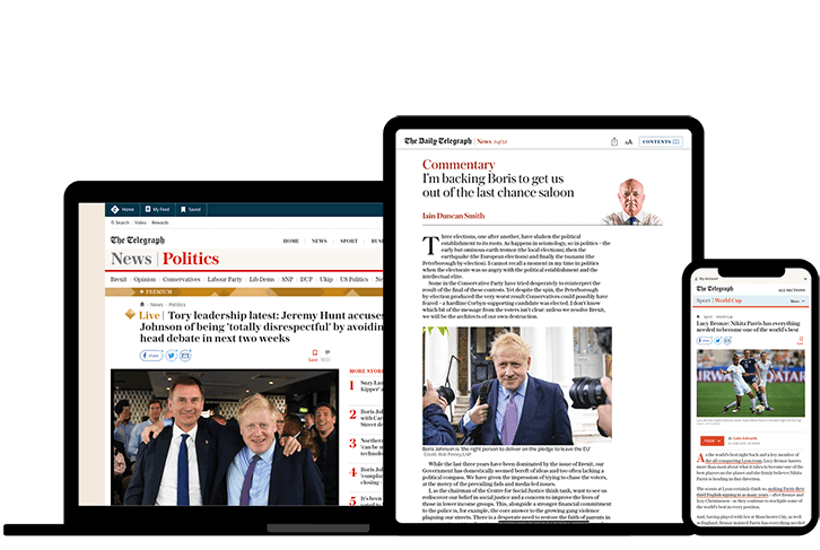 Free subscription to The Telegraph for all Spectator