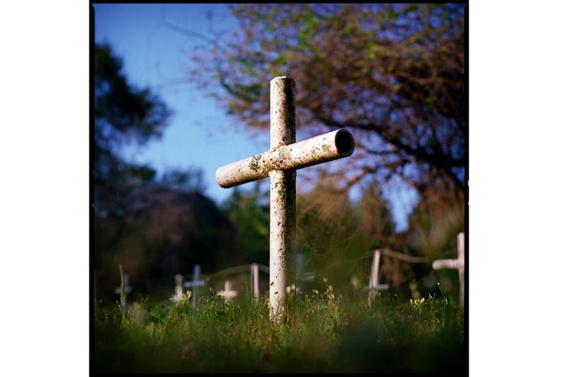 Not far fom the Dozier School, a small cemetery with 31 metal crosses is thought to contain further unmarked graves of children murdered by the staff
