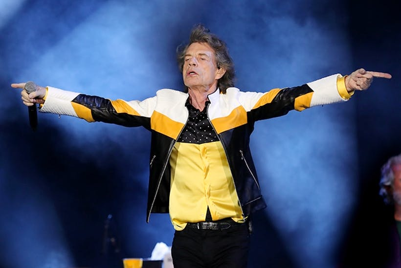 Mick Jagger at the Gillette Stadium, Foxborough, MA earlier this month. Credit: Getty Images