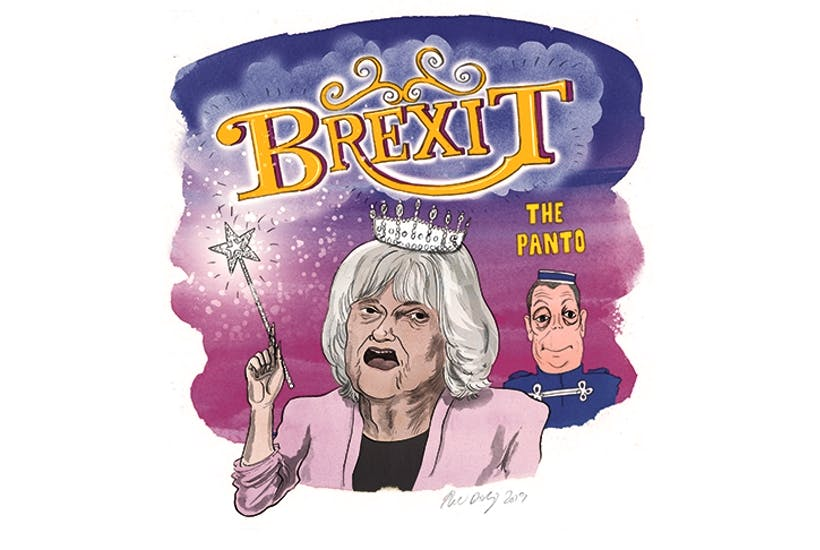 'Panto pays better than being an MEP': Ann Widdecombe interviewed | The Spectator