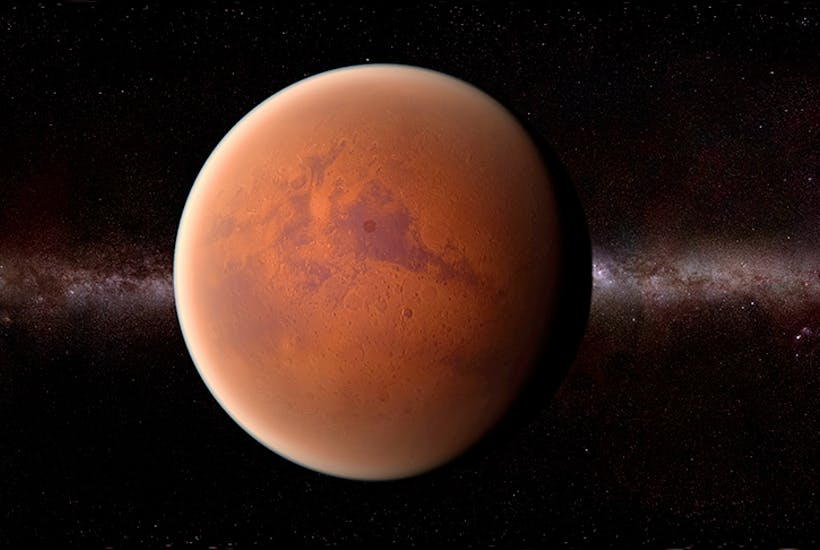 When will man make it to Mars?   The Spectator