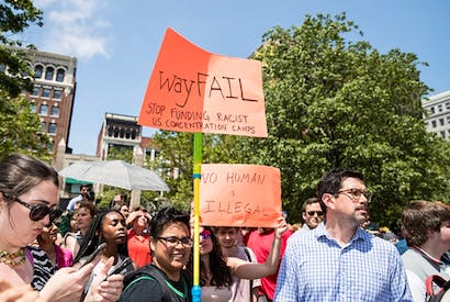 Perhaps my mattress is in Texas? Wayfair employees stage a walkout over the company's supply of beds to a detention centre for migrant children