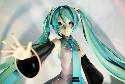 Hatsune Miku went on her first tour in 2016