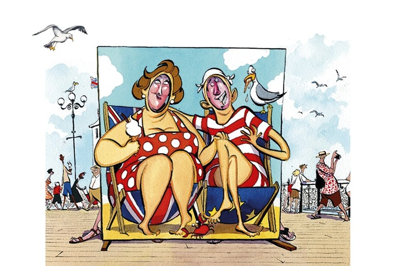 Frightful flights, a falling pound: why would you go